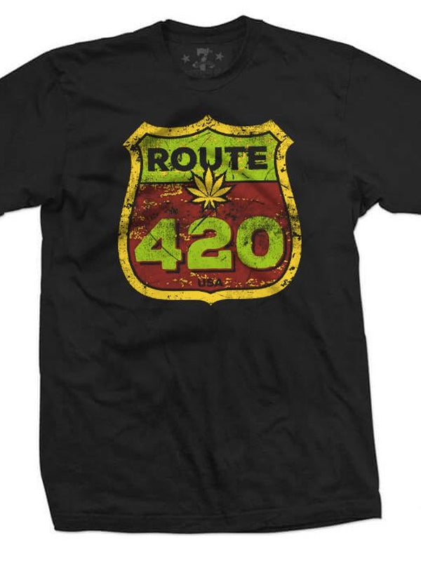 Men's Route 420 Tee by 7th Revolution