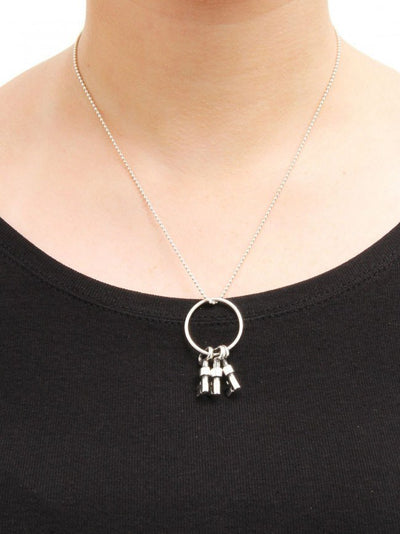 Skeleton Keys Necklace by Femme Metale - InkedShop - 3