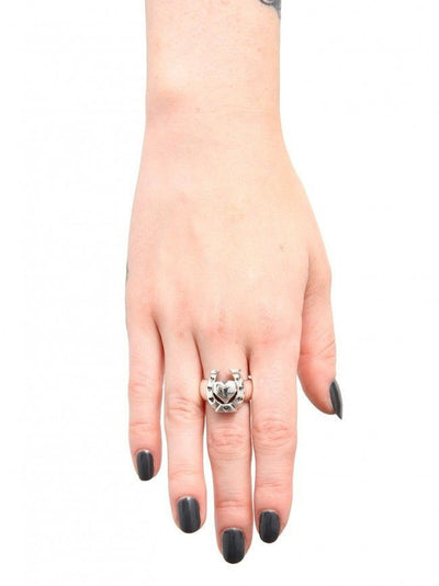 Lucky N Love Ring by Femme Metale - InkedShop - 3