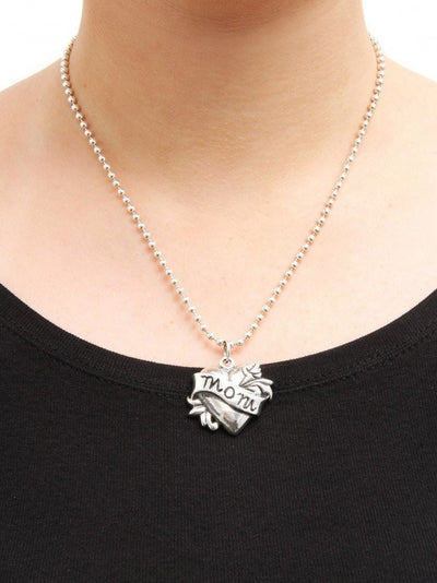 Mom Tattoo Necklace by Femme Metale - InkedShop - 3