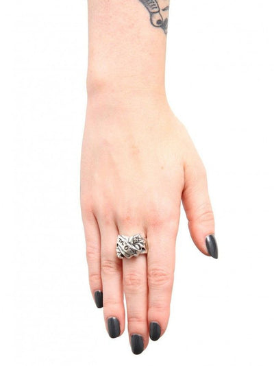 Mom Tattoo Ring by Femme Metale - InkedShop - 3