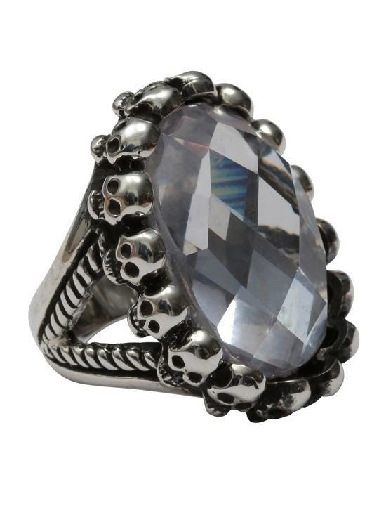 Circle of Skulls Ring by Femme Metale - InkedShop - 1