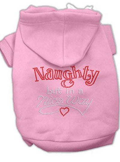 """Naughty But Nice"" Rhinestone Dog Hoodie by Mirage Pet Products (More Options) - www.inkedshop.com"