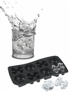 Skull and Crossbones Ice Tray (Black) - InkedShop - 2