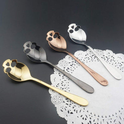 Sugar Skull Tea Spoon