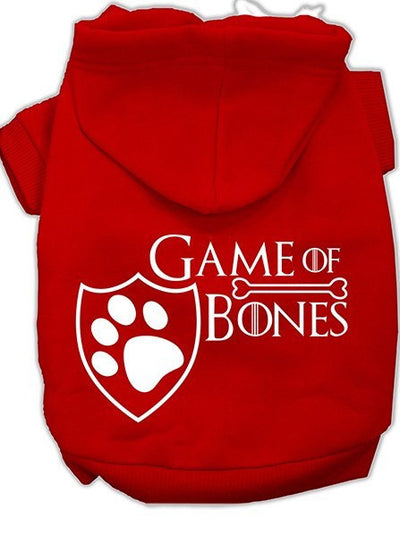 """Game of Bones"" Dog Hoodie by Mirage Pet Products (More Options) - www.inkedshop.com"