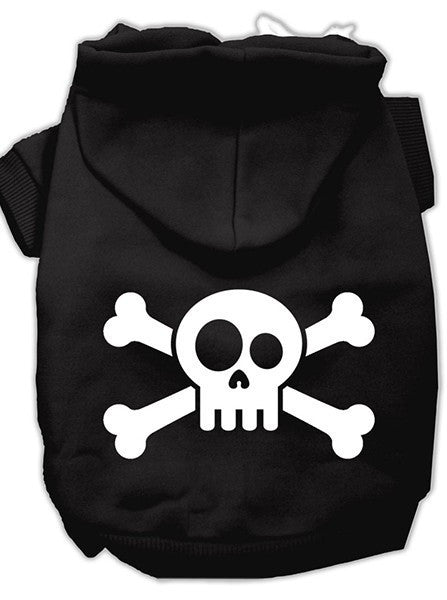 Skull and Crossbones Dog Hoodie by Mirage Pet Products (More Options) - www.inkedshop.com