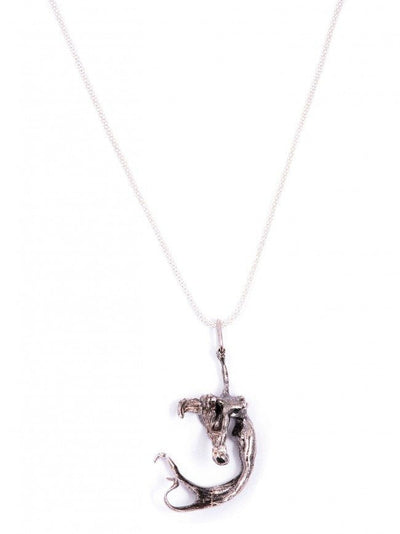 Mermaid Necklace in Sterling Silver by Blue Bayer Design - InkedShop - 3