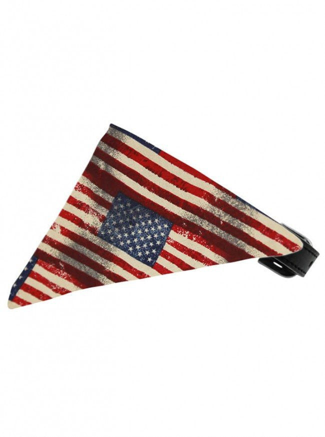 """Glory"" Bandana Pet Collar by Mirage Pet Products - www.inkedshop.com"
