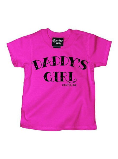 Kid's Daddy's Girl Tee by Cartel Ink - InkedShop - 2
