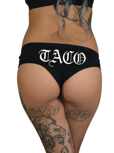 "Women's ""Taco"" Booty Shorts by Cartel Ink (More Options) - www.inkedshop.com"