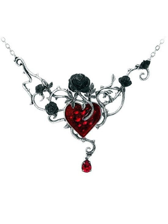 """Bed Of Blood Roses"" Pendant by Alchemy of England - InkedShop - 1"