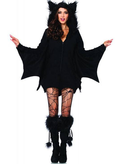 "Women's ""Cozy Bat"" Costume by Leg Avenue (Black) - www.inkedshop.com"