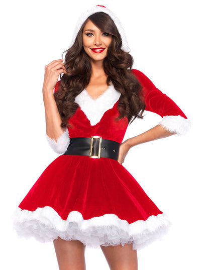 Women's Mrs. Claus Costume by Leg Avenue