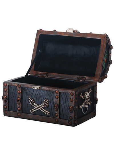 Pirate Chest Box by Summit Collection - www.inkedshop.com