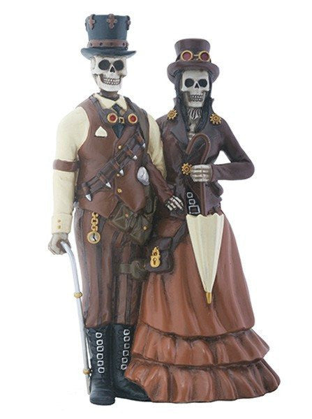 Steampunk Couple Statue by Summit Collection - www.inkedshop.com