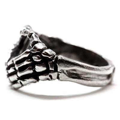 """Hand Heart"" Ring by Blue Bayer Design (Sterling Silver) - InkedShop - 3"