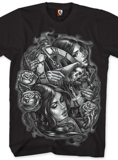 "Men's ""Unforgiven 017"" Tee by OG Abel (Black) - www.inkedshop.com"