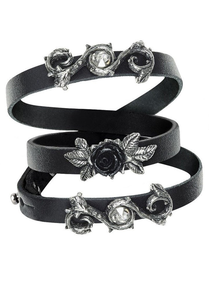 """Rose Of Perfection"" Wriststrap by Alchemy of England - www.inkedshop.com"