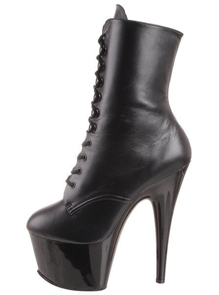 Women's Adore 1020 Leather Ankle Boot by Pleaser