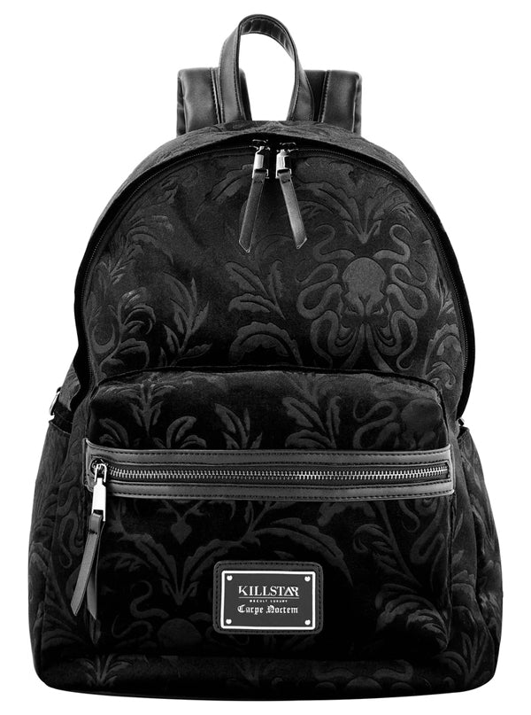 Aeons Velvet Backpack by Killstar