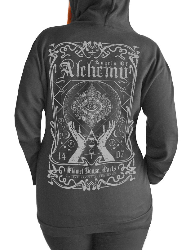 Women's Angels of Alchemy Hoodie by Serpentine Clothing