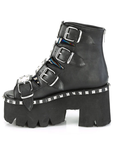 Women's Ashes 70 Bootie Sandal by Demonia