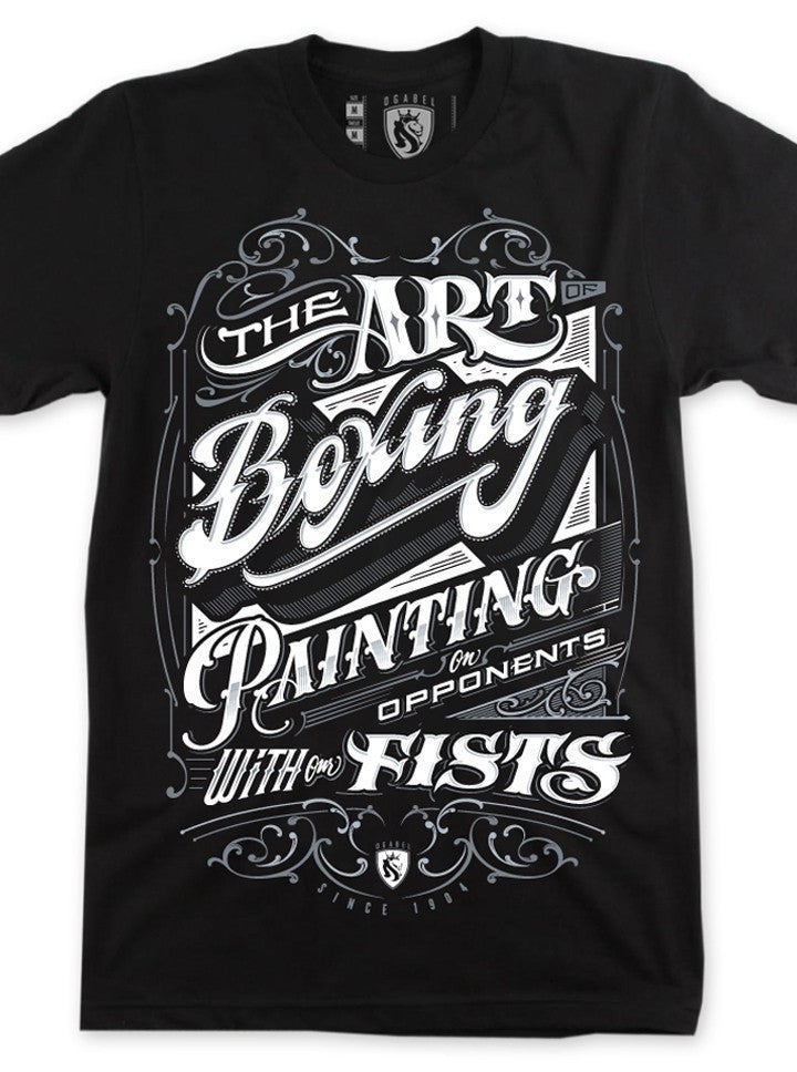 "Men's ""The Art Of Boxing"" Slim Fit Tee by OG Abel (More Options) - www.inkedshop.com"