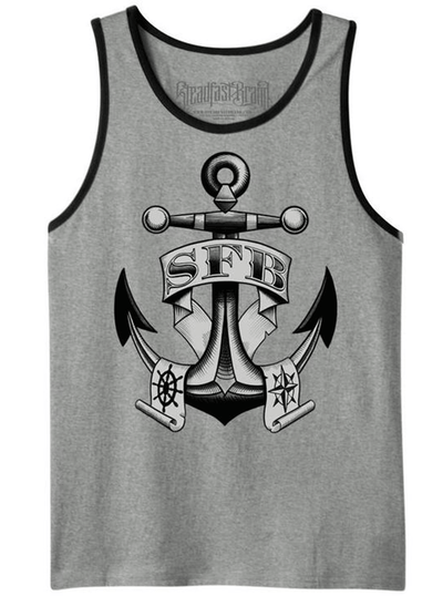 "Men's ""SFB Anchor"" Tank by Steadfast Brand (Heather)"