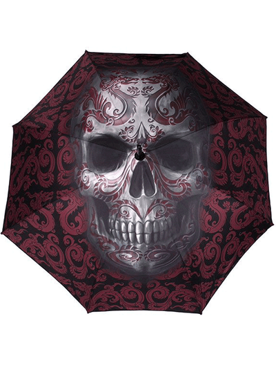 Anne Stokes Oriental Skull Umbrella by Skulls & Things