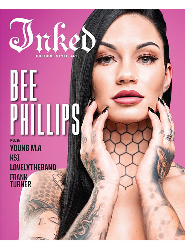 Inked Magazine: The Lifestyle Issue Featuring Bee Phillips - March 2020