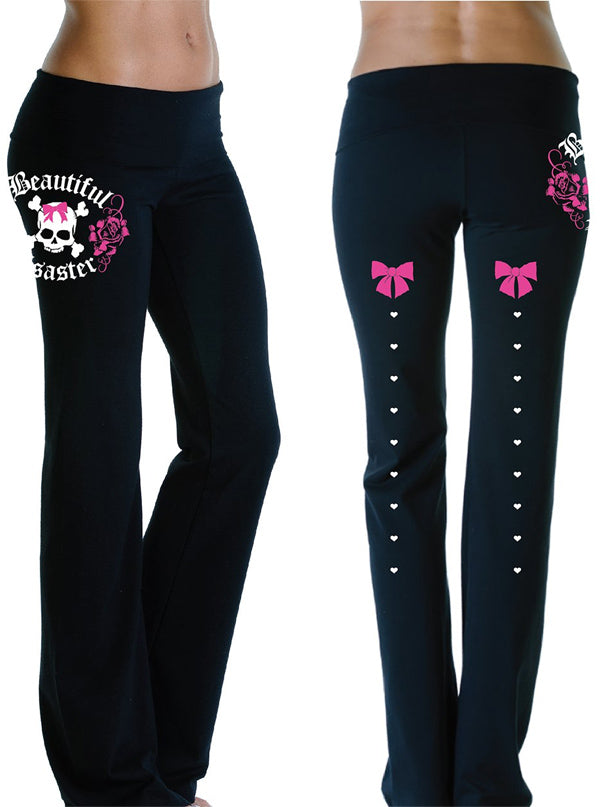 Women's Bella Rose Yoga Pants by Beautiful Disaster