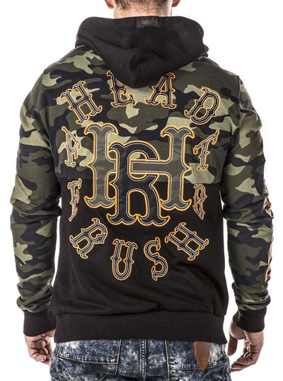 Men's Blood on the Border Hoodie by Headrush Brand