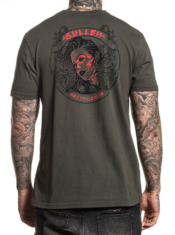 Men's In Bloom Tee by Sullen