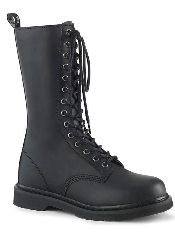Unisex Bolt 300 Mid-Calf Combat Boot by Demonia