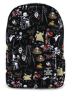 """Character Print"" Backpack by Loungefly x Nightmare Before Christmas (Black)"
