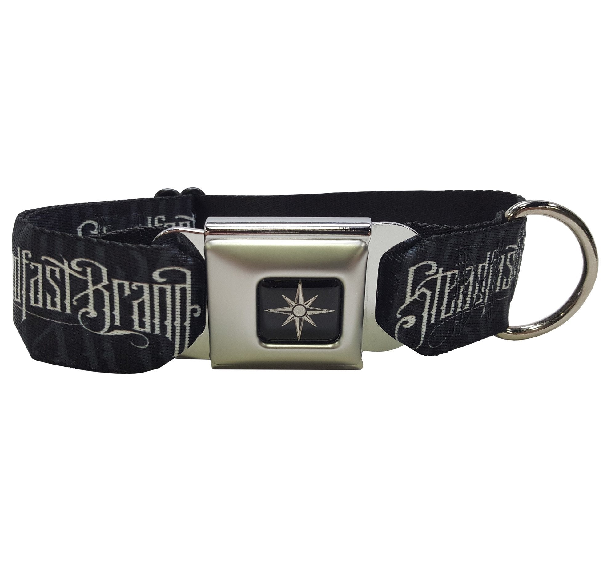 Steadfast Noir Logo Dog Collar (Black)