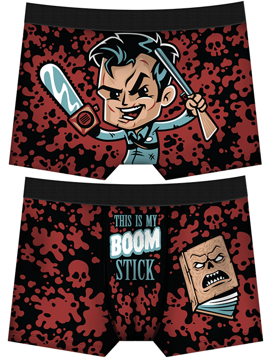 Men's This Is My Boom Stick Boxer Briefs by Harebrained!
