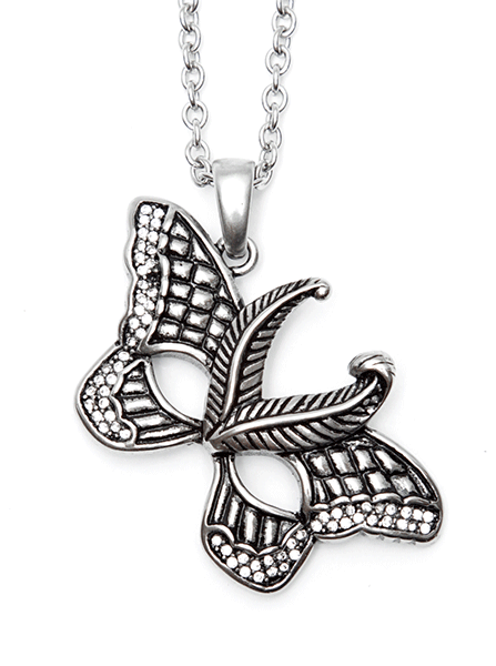 Butterfly Mask Necklace by Controse