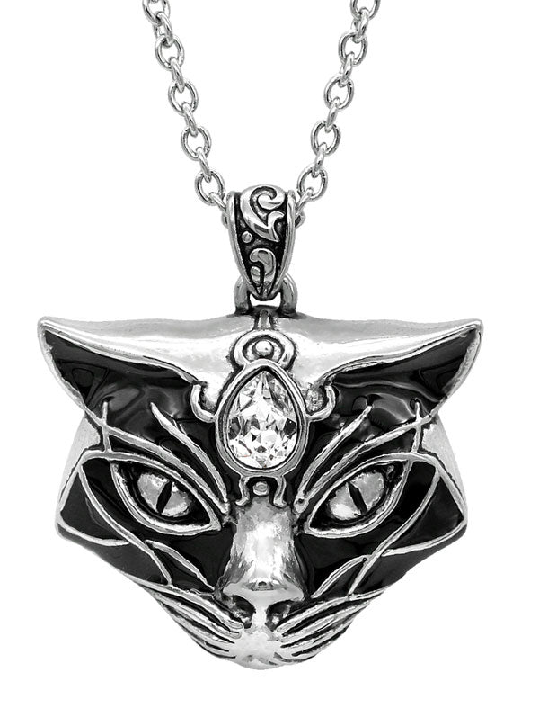 Black Magic Cat Necklace by Controse