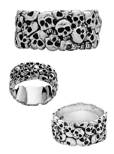 Catacombs Ring by Silver Phantom Jewelry