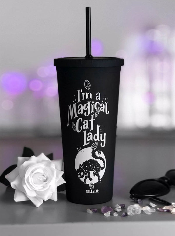 Cat Lady Cold Brew Cup by Killstar