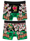 Men's Chicks Heart Me Boxer Briefs by Harebrained!