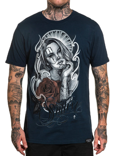 Men's Pelavacas Clown Tee by Sullen