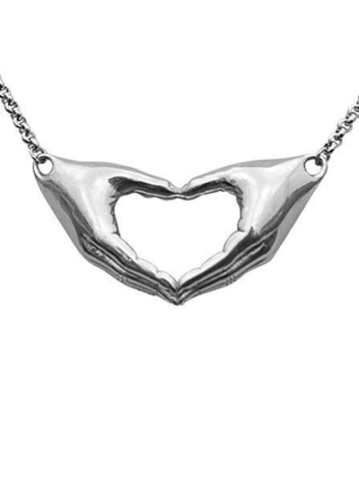 """Friendship"" Necklace by Controse (Silver) - www.inkedshop.com"