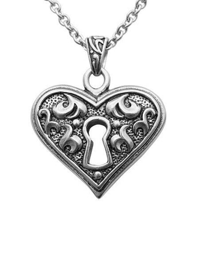 """Guarded Heart"" by Controse (Silver) - www.inkedshop.com"
