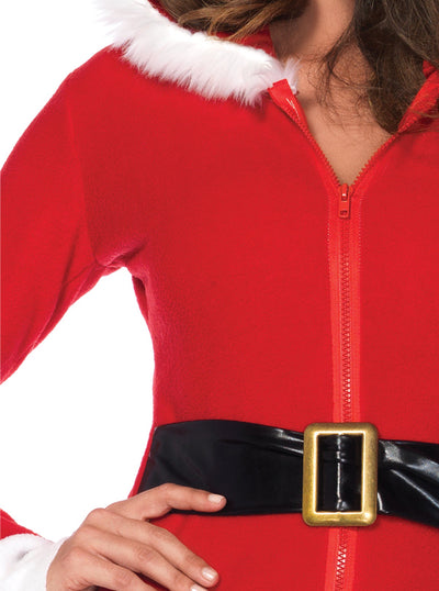 Women's Cozy Santa Costume by Leg Avenue