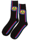 """ATARI"" SOCKS (Black/Red/Blue)"