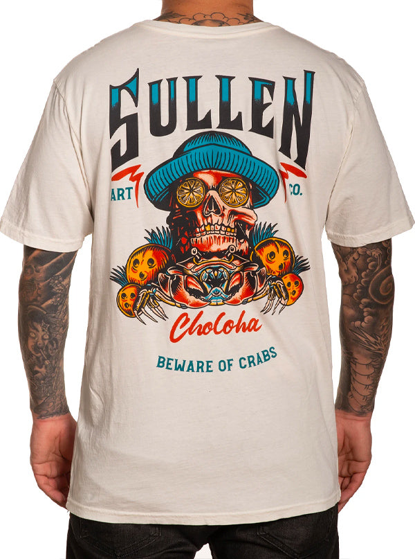 Men's Crabs Tee by Sullen