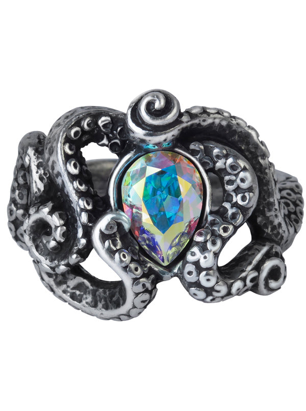 """Cthulhu"" Ring by Alchemy of England"